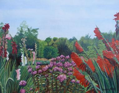 La Lambertière : les fleurs de Paulette