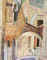 In Provence - cobbled street